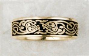 what do celtic wedding rings represent